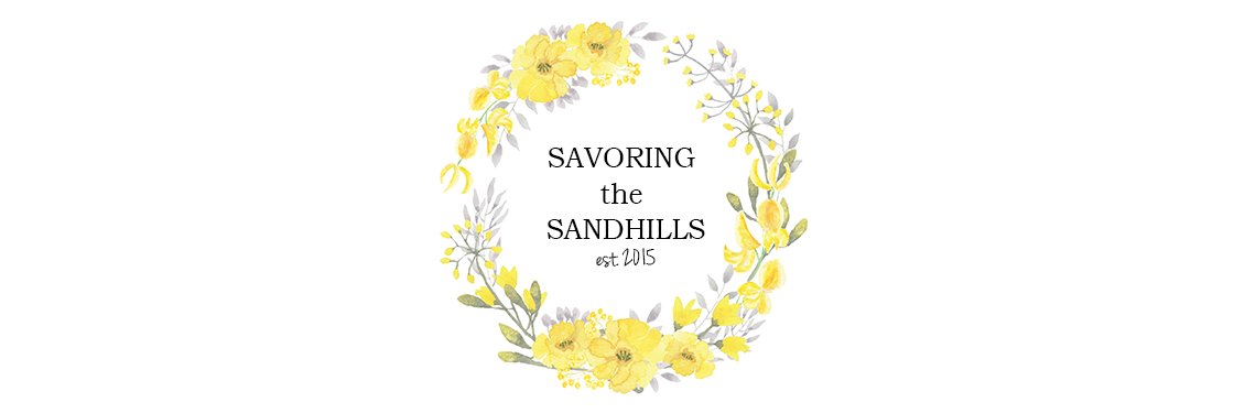 Savoring the Sandhills