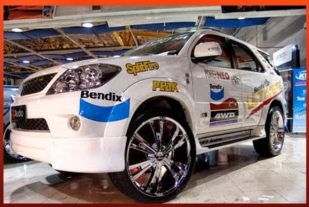 Foto Modifikasi Toyota Fortuner