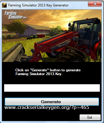 Farming Simulator 2013 Key