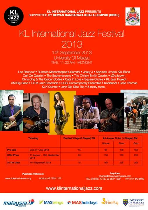 KL International Jazz Festival 2013