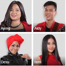 X factor indonesia yang tersisa adalah 8