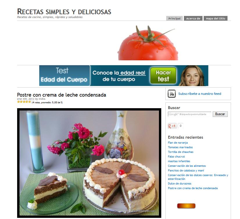 recetas simples blog sobre cocina