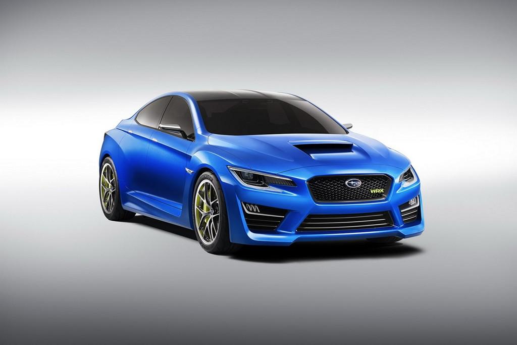 Subaru WRX Concept, boxer, AWD, sportowy japoński samochód, sedan, koncepcyjny, agresywny design, piękny, ciekawy