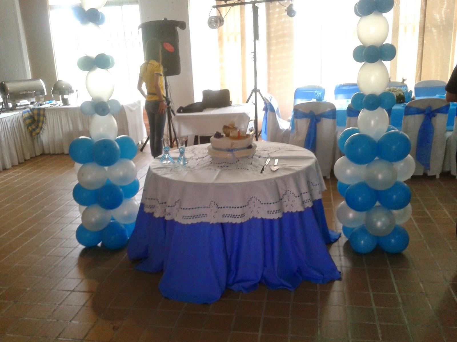 Events planners by maria eva evento primera comunion azul - Ideas para decorar una primera comunion de nino ...