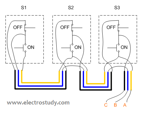 wiring diagram 3 phase motor 3 3 kw three unit of bsh 222 wiring diagram 3 phase motor 3 3 kw three unit of bsh 222 switch