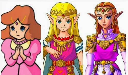 legend of zelda evolution