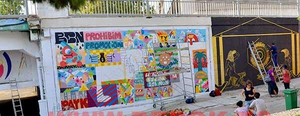 Graffitis de Zosen Sant Adrià del Besòs 2014