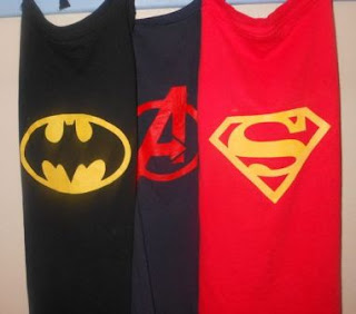 Cara Menyulap KAOS Bekas Menjadi Jubah SUPER HERO