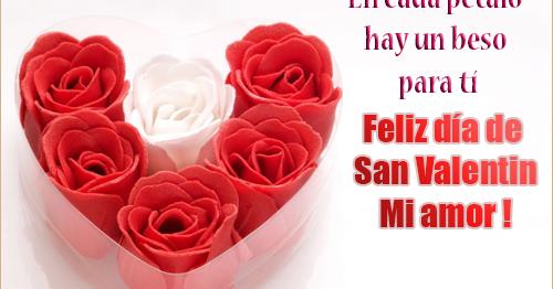 Tarjetas Bonitas Para San Valentin Mensajes Para Amor Postales