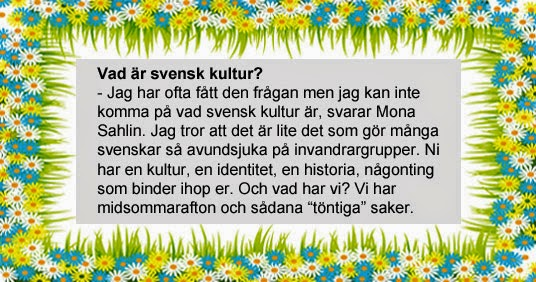 Mona Sahlin, citat.