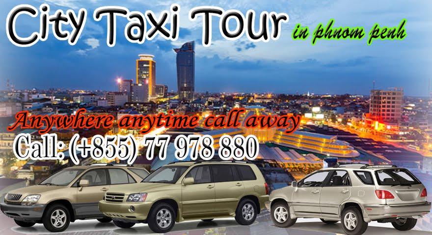 City Taxi in Phnom Penh