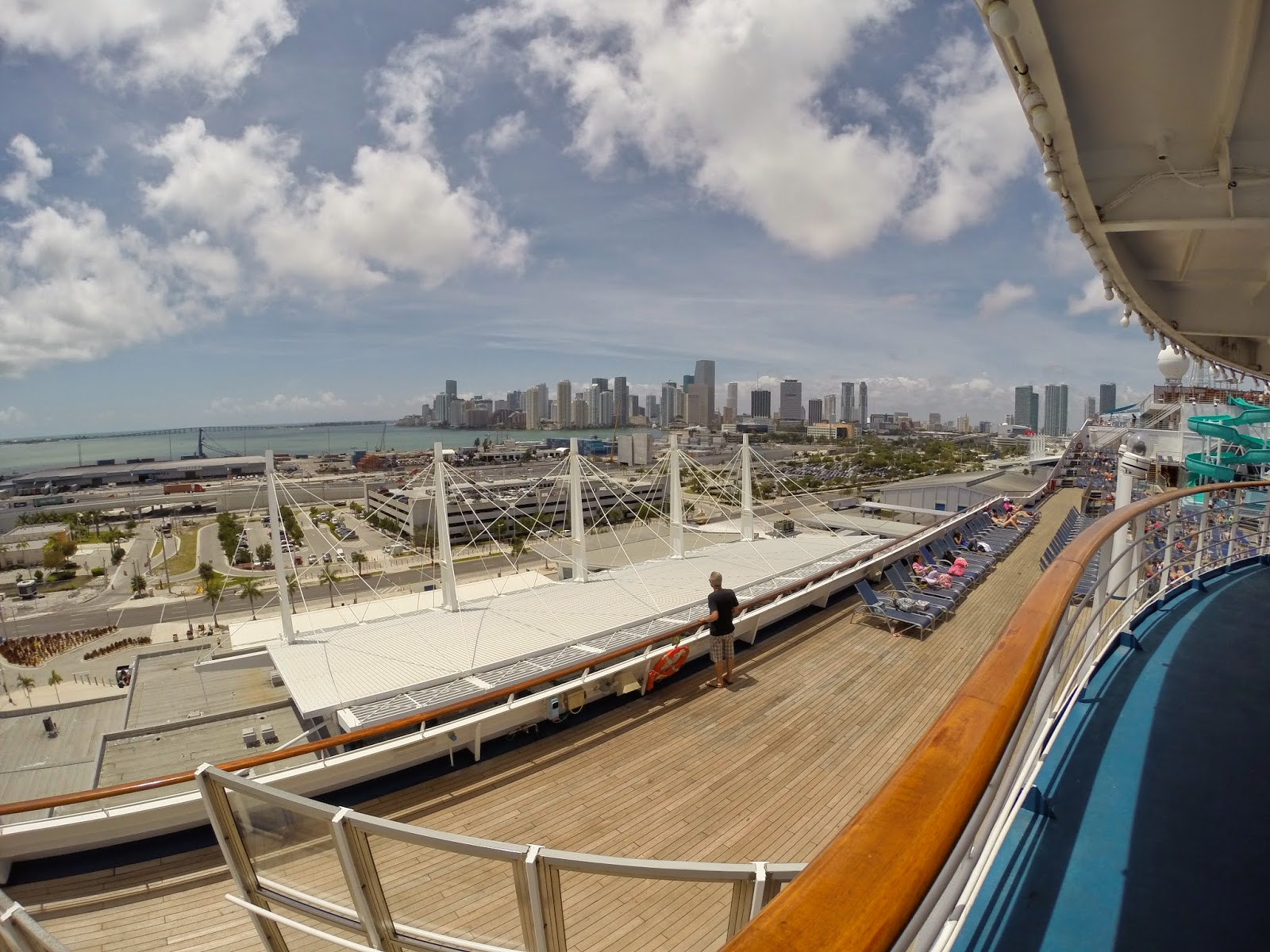 miami from cruise ship
