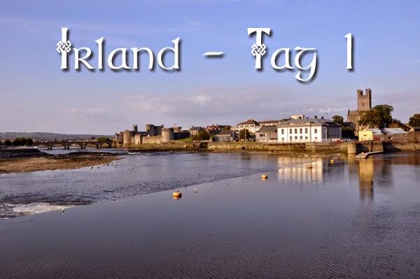 Irland 2014 - Tag 1 | Titelbild mit dem River Shannon in Limerick