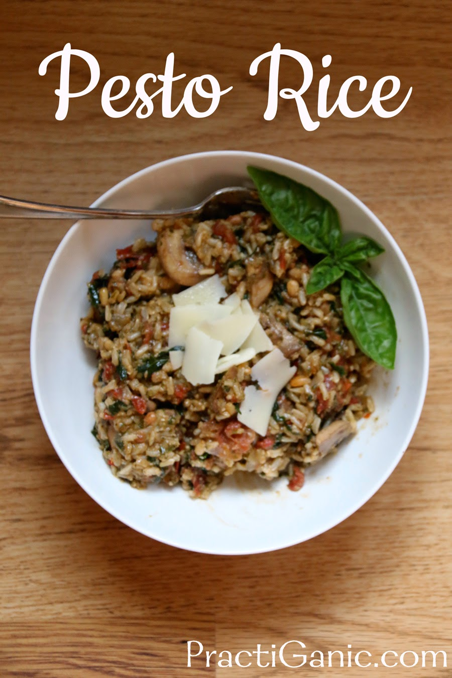 Pesto and Sun-Dried Tomato Jasmine Rice