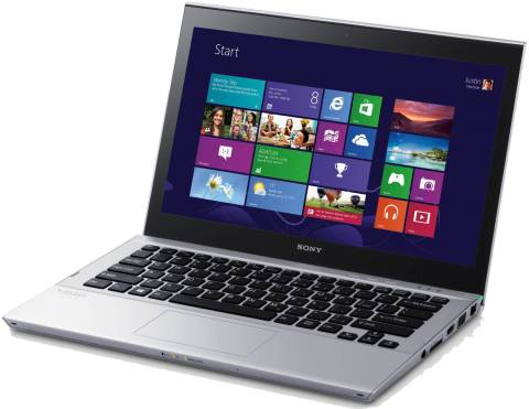 Ultrabook Sony Vaio T com Windows 8