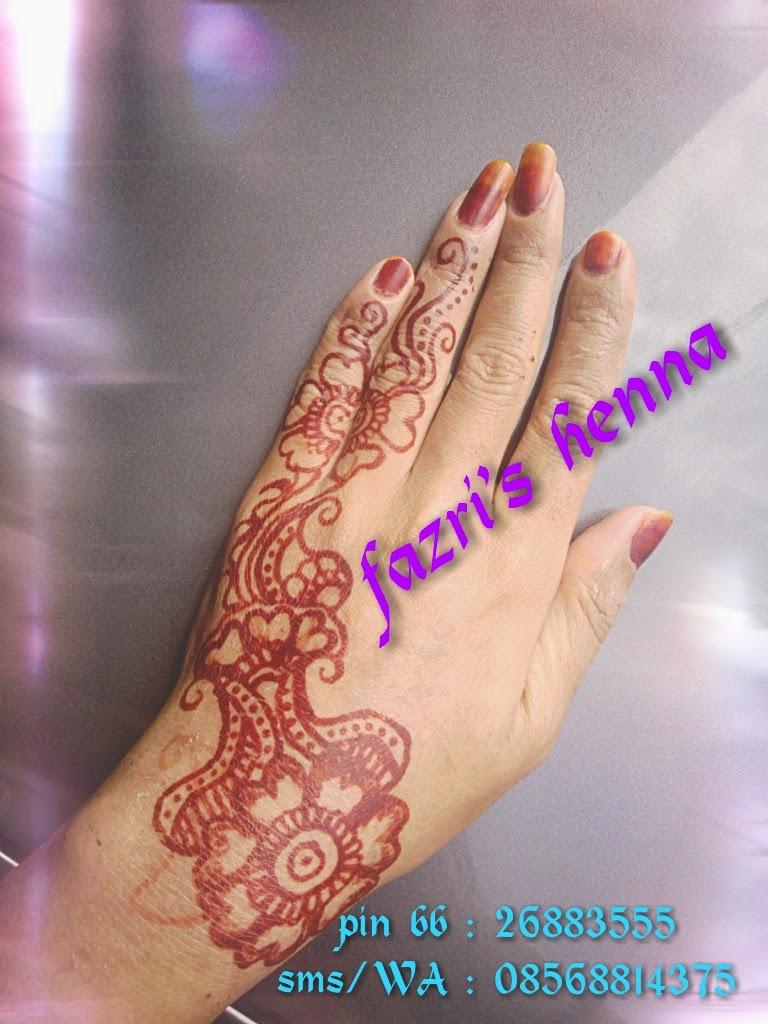 Fazri Henna Desain Henna
