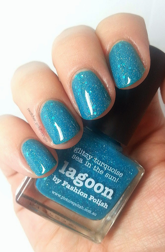 picture polish lagoon swatch
