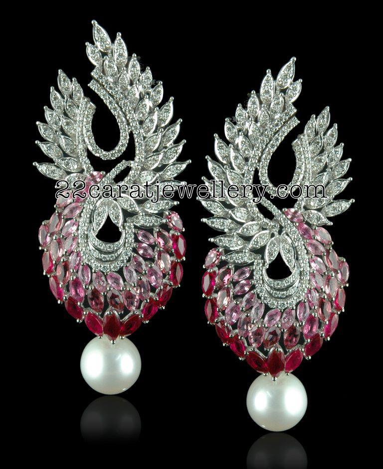 Chandelier Diamond Earrings - Jewellery Designs