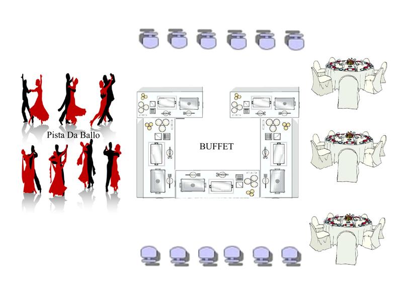 Amato Matrimonioe un tocco di classe: Ricevimento Tipo Buffet UI48
