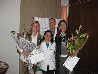 Madrinas, Dr. Argés, Lic.Lucía Álvarez