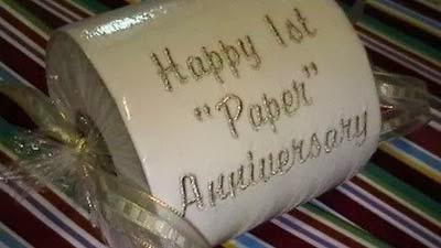 presente bodas de papel