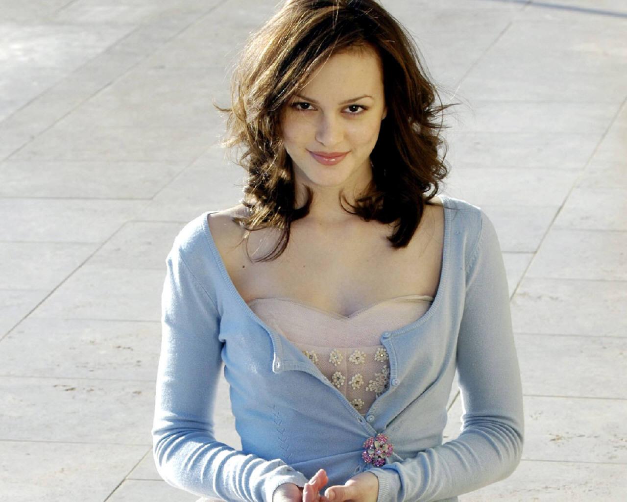 hot actress: leighton meester