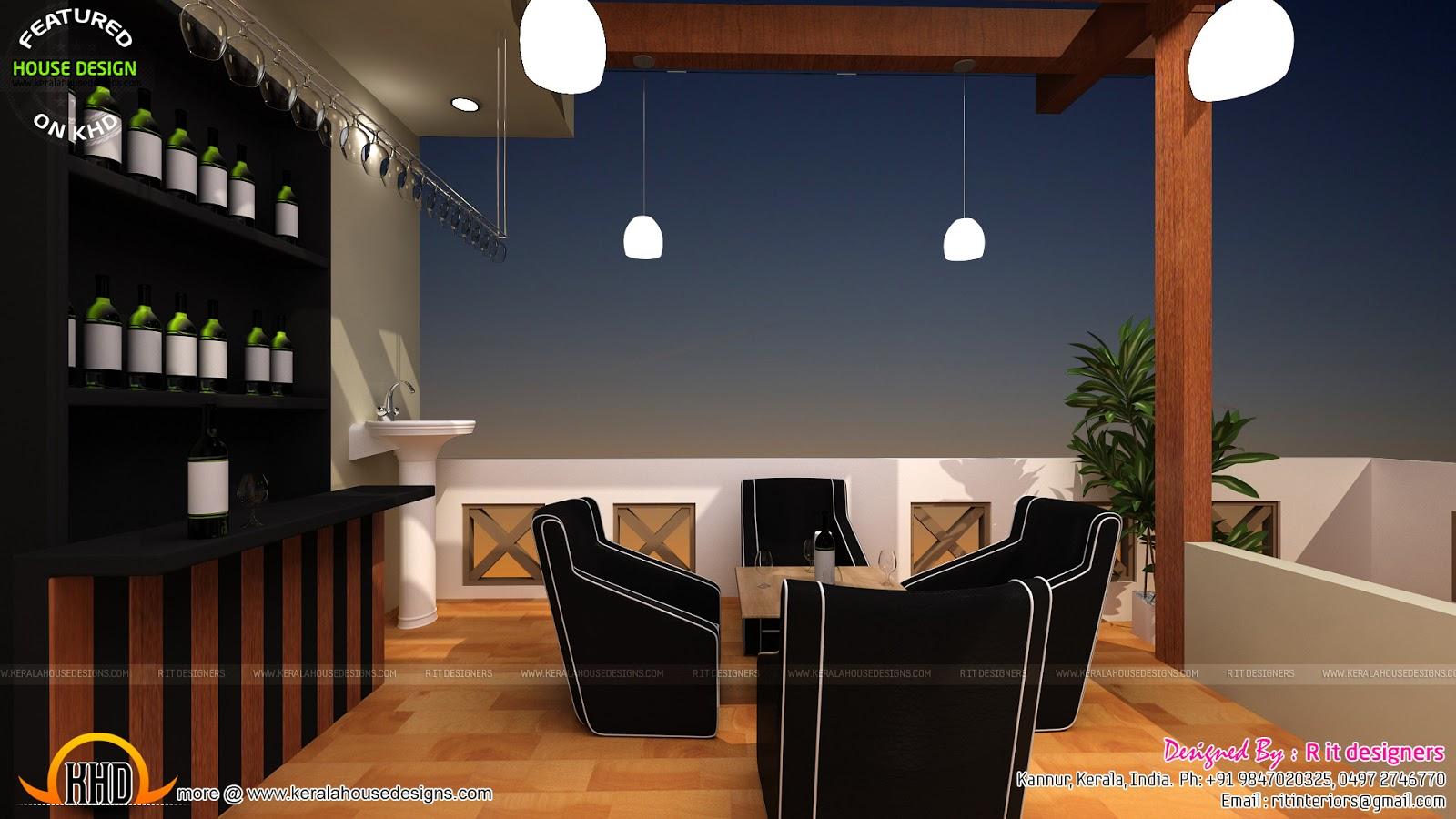 Terrace gazebo designs in India - Kerala home design and ...