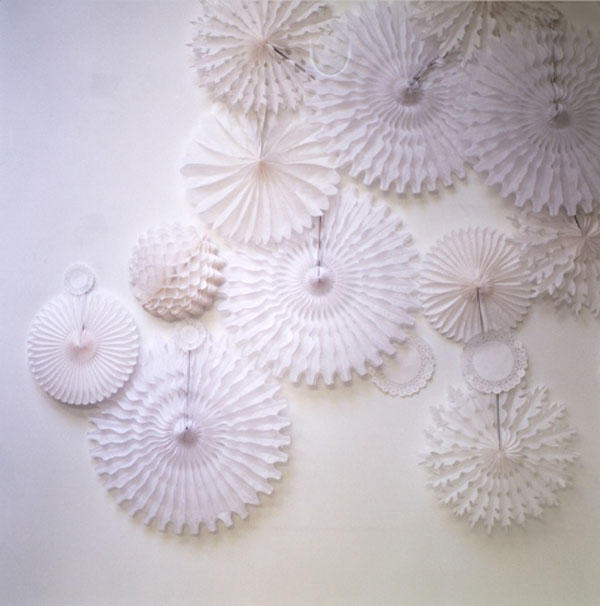 Perpetually Engaged: honeycomb paper decorations