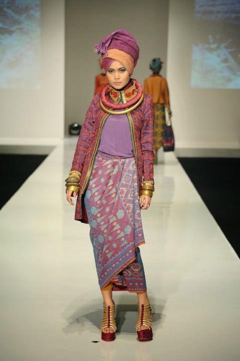 Model Baju Muslim Kebaya Modis 2015