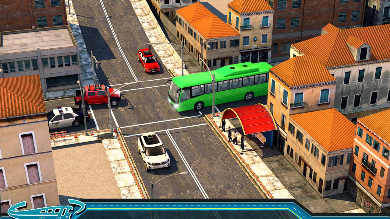City Bus Driving Mania 3D Gameplay IOS / Android
