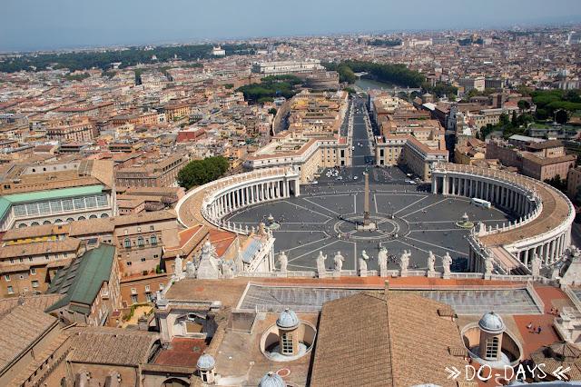 Rom Aussicht Peterskuppel
