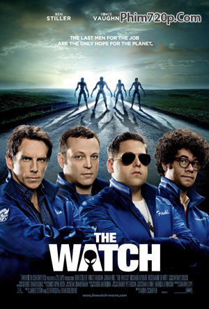 The Watch 2012 poster