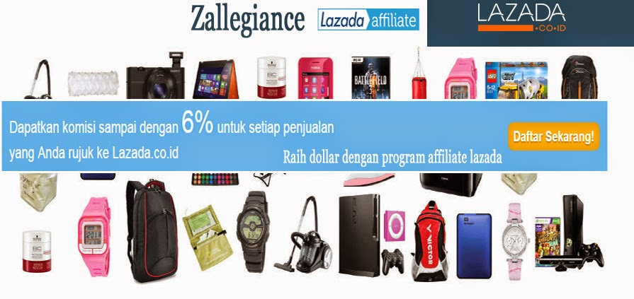Raih Dollar Melalui Program Affiliate Lazada