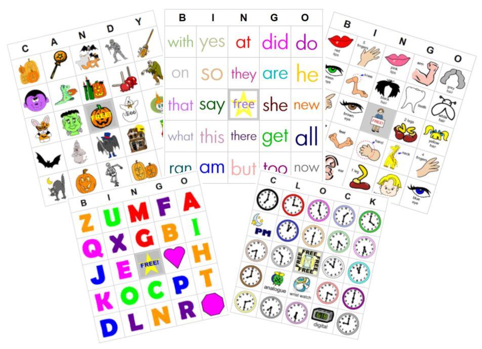 Teaching with TLC: Free Bingo Card Generator Site