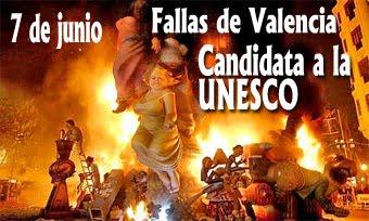 Las Fallas candidata a la UNESCO