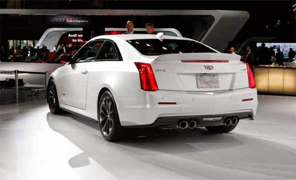 2016 Cadillac ATS-V Coupe and Sedan Specs