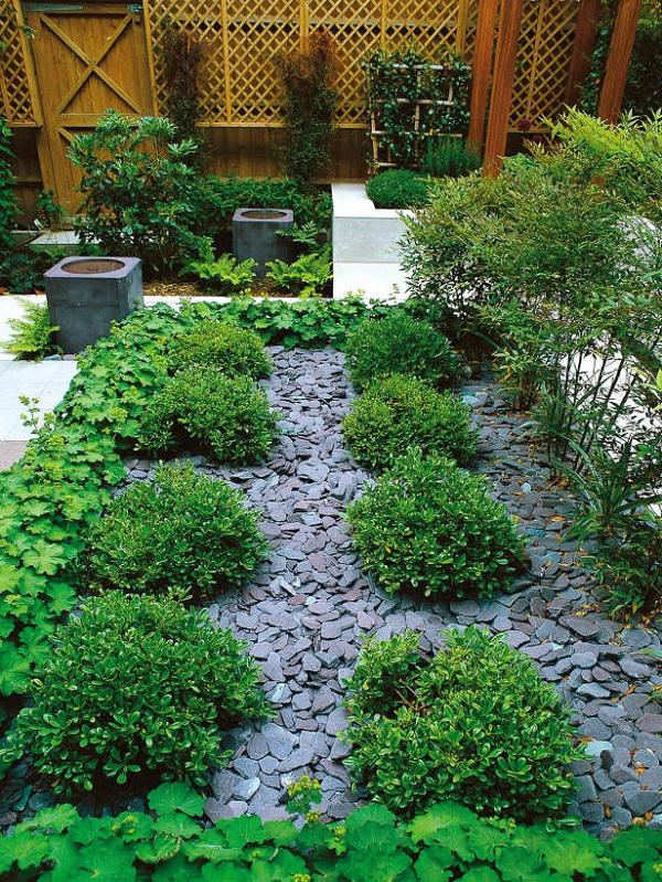Dise os de jard n con grava y ridos guia de jardin - Jardines con gravilla ...