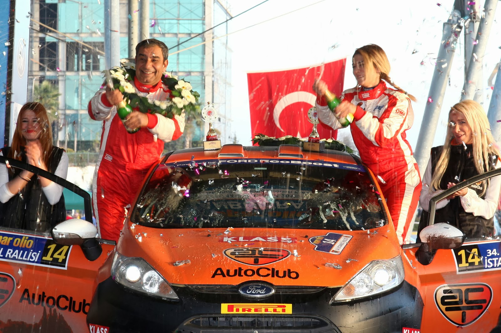 Speedqueens: Female Rally Drivers Around the World: Turkey