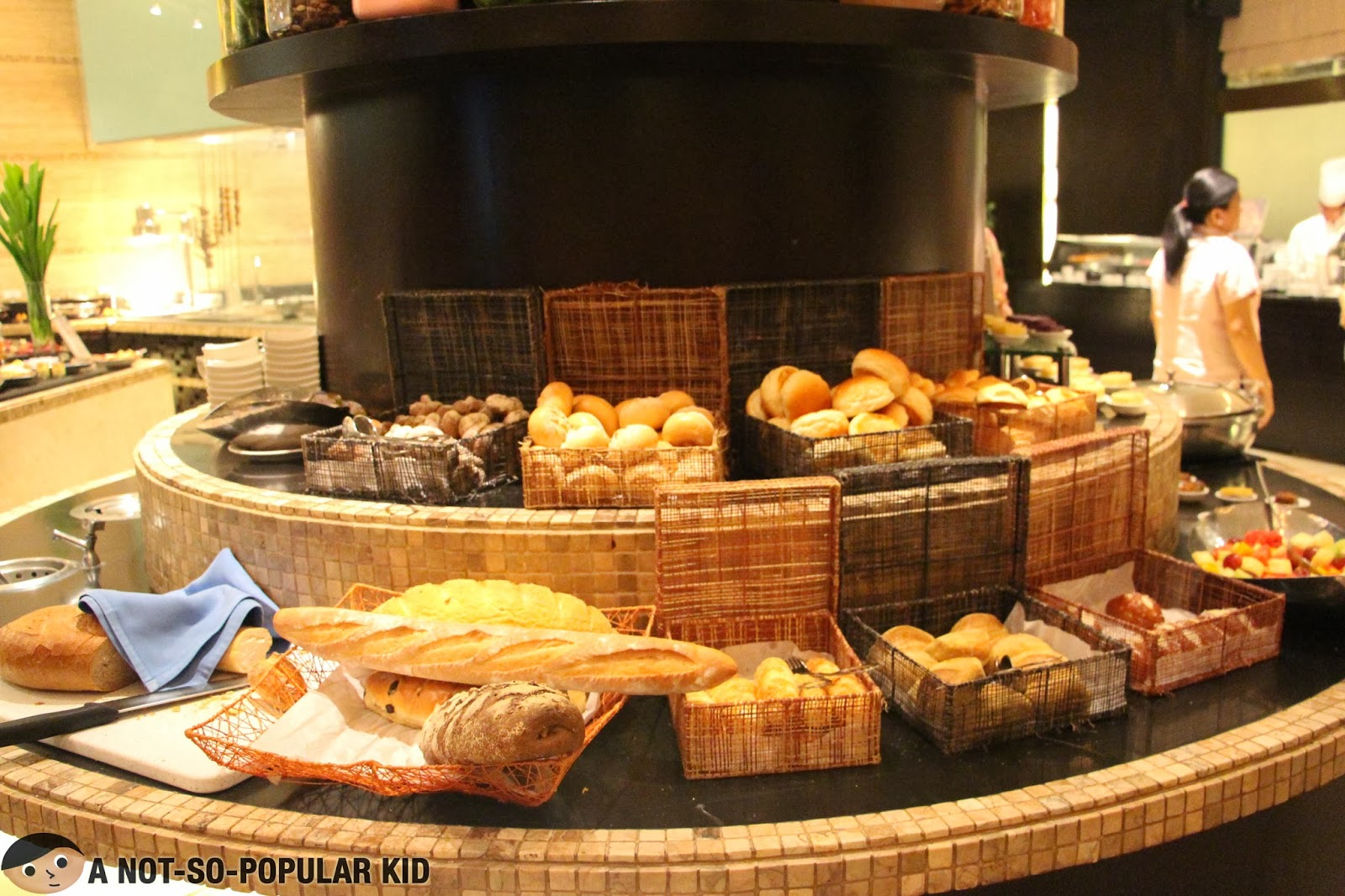 Bread Station of Dusit Thani's Basix