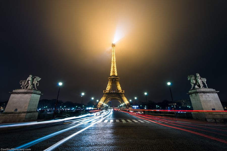 19. Paris's lighthouse by Damien Bapst