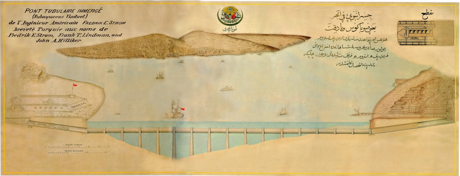 Alagút a Boszporusz alatt - Forrás: sonnurozcan