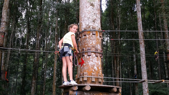 Treetop Adventure Park, Bali