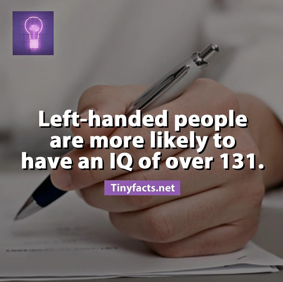 Sự thật về người thuận tay trái