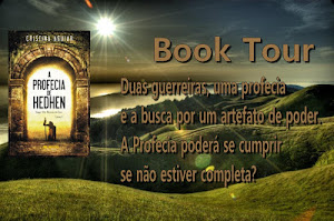 Book Tour - A Profecia de Hedhen