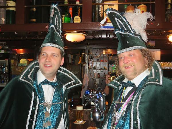 Prins Geert-jan 1e en Adjudant Hans 2014/2015:
