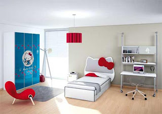quarto hello kitty simples