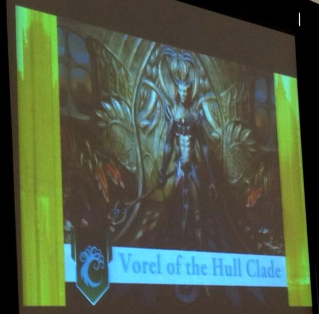 Vorel Of The Hull Clade Card MTG Realm: Dragons Maz...