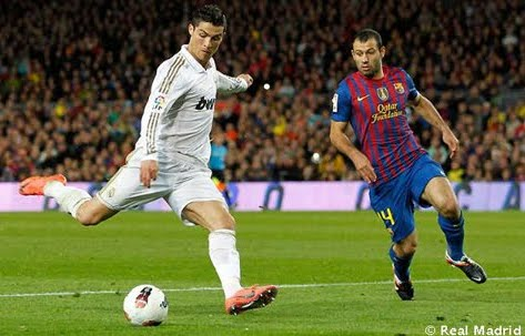 FC Barcelona vs Real Madrid goles 2012