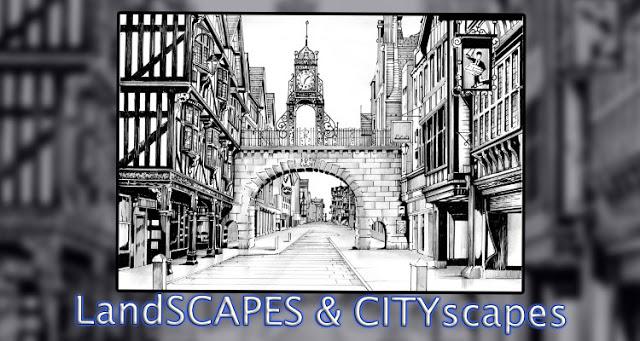 Cityscape & Landscape Art