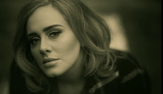 adele still shot from Hello video